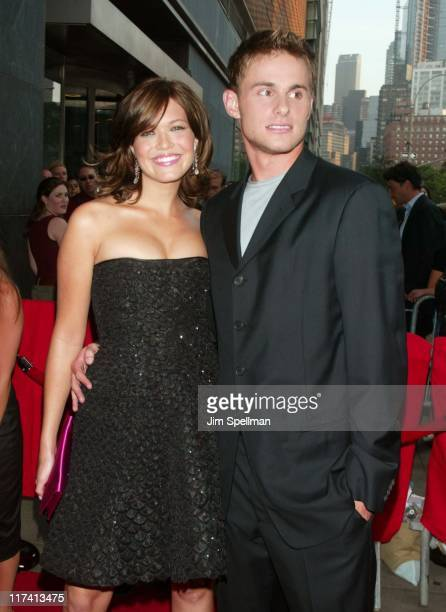 Mandy Moore and Andy Roddick during 'How to Deal' New York Premiere Outside Arrivals at Loews Lincoln Square in New York New York United States