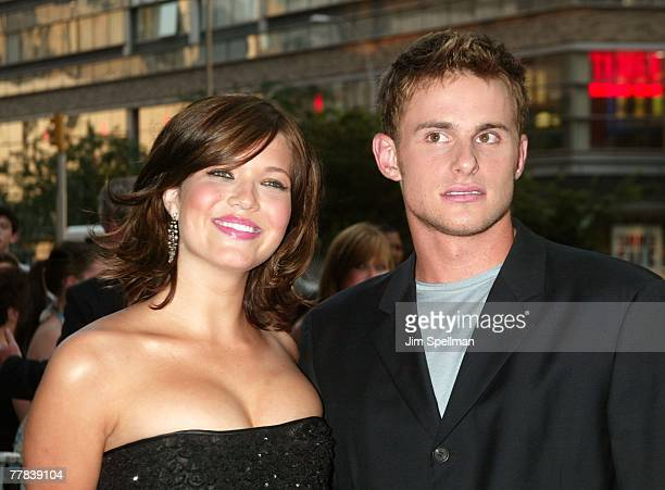 Mandy Moore and Andy Roddick