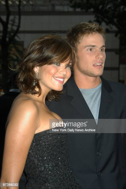 Mandy Moore and boyfriend Andy Roddick arrive at Loews Cineplex Lincoln Square for the premiere of the movie 'How to Deal' She stars in the film