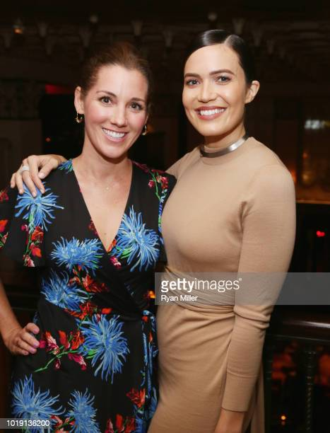 Mandy Moore and Carly Craig attend Harper's BAZAAR and the CDG celebrate Excellence in Television Costume Design with the Emmy Nominated Costume...