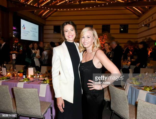 Mandy Moore and Chelsea Handler attend Communities in Schools Annual Celebration on May 1 2018 in Los Angeles California