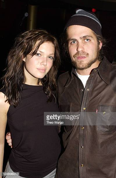 Mandy Moore and Citizen Cope during Citizen Cope performs at Shine in New York City at Shine in New York City New York United States
