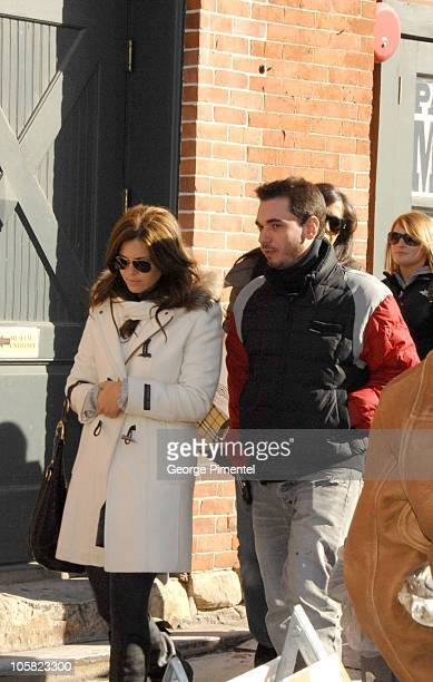 Mandy Moore and DJ AM during 2007 Park City Seen Around Town Day 4 in Park City Utah United States