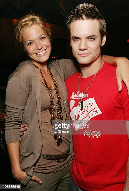 Mandy Moore and Shane West during Young Angels 310 Benefit Hosted by Mandy Moore and Shane West at Key Club in West Hollywood California United States
