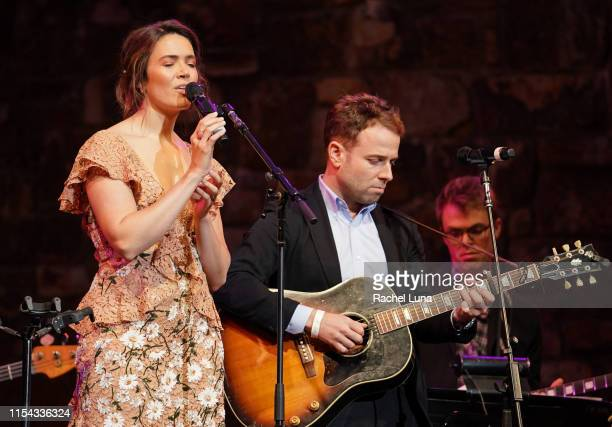 Mandy Moore and Taylor Goldsmith perform at 20th Century Fox Television and NBC Present This Is Us FYC Event at John Anson Ford Amphitheatre on June...