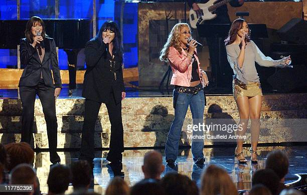 Mandy Moore Ann Wilson Anastacia and Mya at the WOMEN ROCK Songs from the Movies which airs on Liftime Television October 23rd