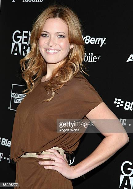 Mandy Moore arrives at the 11th Annual 'Fresh Faces In Fashion' event held at the Peterson Automotive Museum on October 10 2008 in Los Angeles...