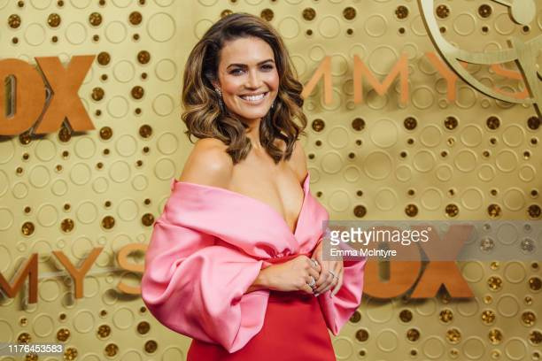 Mandy Moore arrives at the 71st Emmy Awards at Microsoft Theater on September 22 2019 in Los Angeles California