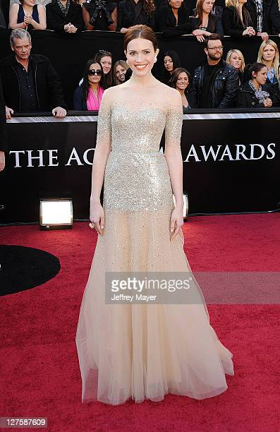 Mandy Moore arrives at the 83rd Annual Academy Awards at the Kodak Theatre on February 27 2011 in Hollywood California