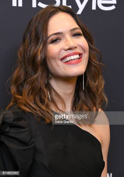 Mandy Moore arrives at the Hollywood Foreign Press Association And InStyle Celebrate The 75th Anniversary Of The Golden Globe Awards at Catch LA on...