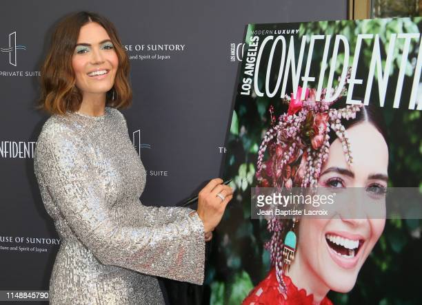 Mandy Moore arrives at the Los Angeles Confidential Magazine Impact Awards at The Line Hotel on June 09 2019 in Los Angeles California