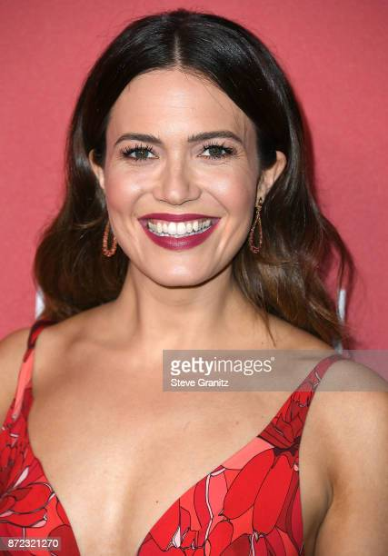 Mandy Moore arrives at the SAGAFTRA Foundation Patron of the Artists Awards 2017 on November 9 2017 in Beverly Hills California