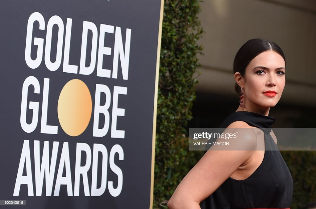 US-ENTERTAINMENT-GOLDEN-GLOBES-ARRIVALS : Fotografía de noticias