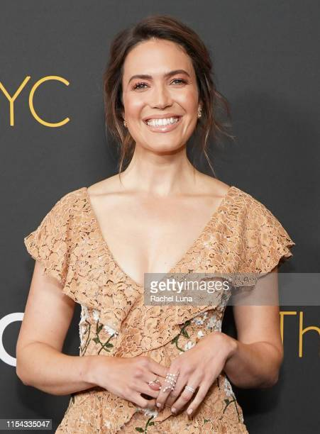 """Mandy Moore attends 20th Century Fox Television and NBC Present """"This Is Us"""" FYC Event at John Anson Ford Amphitheatre on June 06, 2019 in Hollywood,..."""
