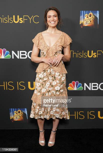 "Mandy Moore attends 20th Century Fox Television and NBC Present ""This Is Us"" FYC Event at John Anson Ford Amphitheatre on June 06, 2019 in Hollywood,..."