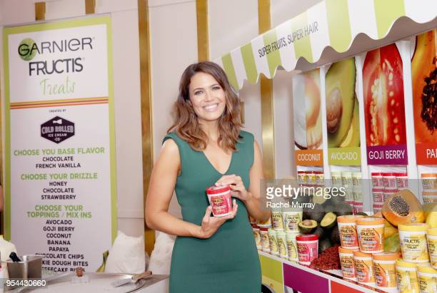 Mandy Moore attends a 'Girls' Night In' hosted by Mandy Moore and Garnier at Hills Penthouse on May 3 2018 in West Hollywood California