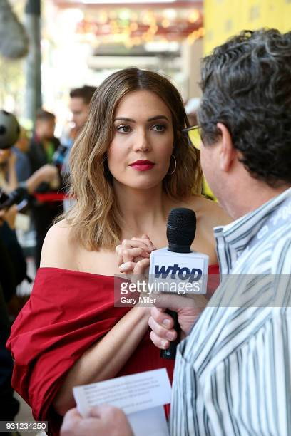 Mandy Moore attends a screening of This Is Us 2nd season finale at the Paramount Theatre during South By Southwest on March 12 2018 in Austin Texas