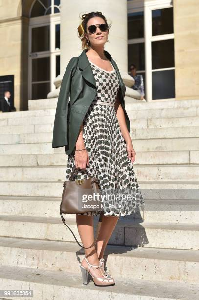 Mandy Moore attends Fendi Couture during Paris Fashion Week Haute Couture Fall Winter 2018/2019 on July 4 2018 in Paris France