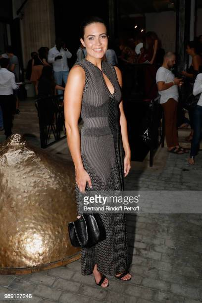 Mandy Moore attends 'L'Alchimie secrete d'une collection The Secret Alchemy of a Collection' Exhibition Preview at Galerie Azzedine Alaia on July 1...