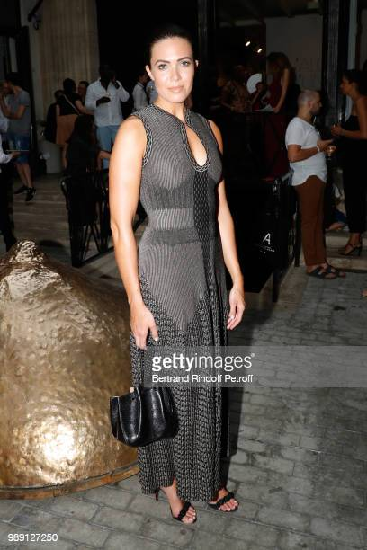 Mandy Moore attends L'Alchimie secrete d'une collection The Secret Alchemy of a Collection Exhibition Preview at Galerie Azzedine Alaia on July 1...