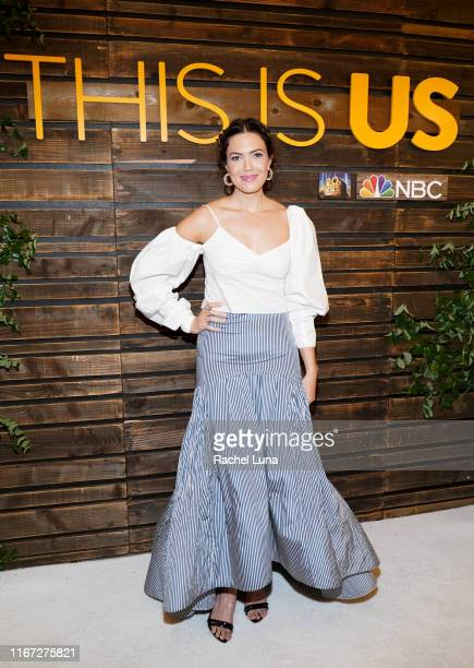 """Mandy Moore attends NBC's """"This Is Us"""" Pancakes with the Pearsons at 1 Hotel West Hollywood on August 10, 2019 in West Hollywood, California."""