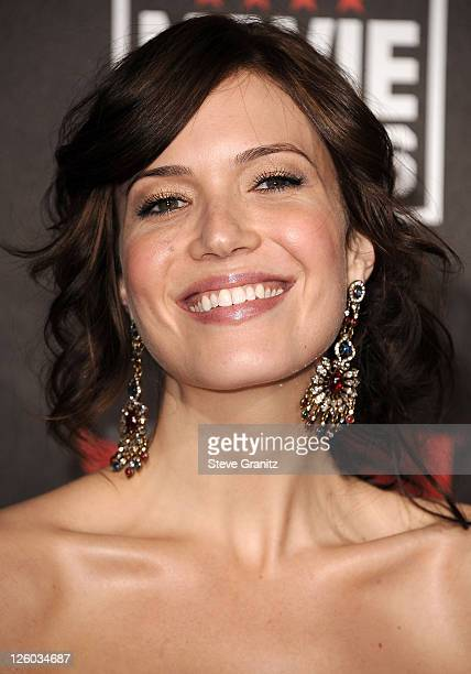 Mandy Moore attends the 16th Annual Critics Choice Movie Awards on January 14 2011 in Hollywood California