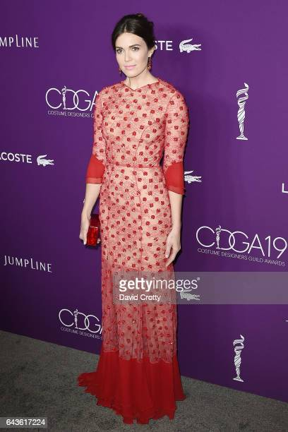 Mandy Moore attends the 19th CDGA Arrivals at The Beverly Hilton Hotel on February 21 2017 in Beverly Hills California