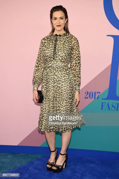 Mandy Moore attends the 2017 CFDA Fashion Awards at Hammerstein Ballroom on June 5, 2017 in New York City.