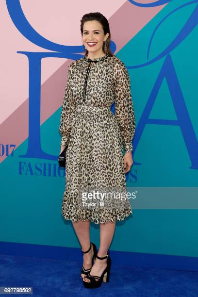 Mandy Moore attends the 2017 CFDA Fashion Awards at Hammerstein Ballroom on June 5 2017 in New York City