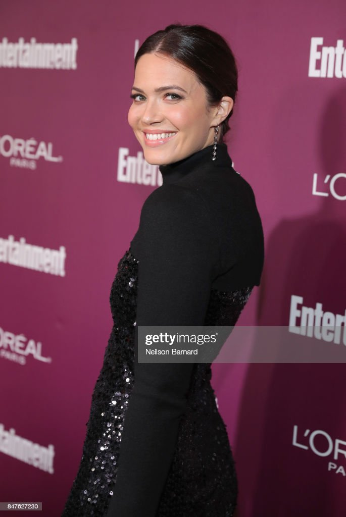 Mandy Moore attends the 2017 Entertainment Weekly Pre-Emmy Party at Sunset Tower on September 15, 2017 in West Hollywood, California.