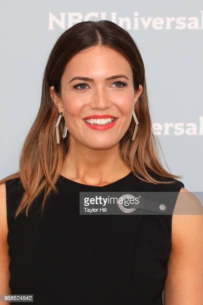 Mandy Moore attends the 2018 NBCUniversal Upfront Presentation at Rockefeller Center on May 14 2018 in New York City