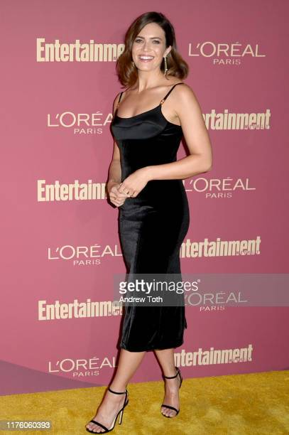 Mandy Moore attends the 2019 Pre-Emmy Party hosted by Entertainment Weekly and L'Oreal Paris at Sunset Tower Hotel in Los Angeles on Friday,...