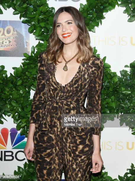 Mandy Moore attends the 20th Century Fox Television and NBC's 'This Is Us' FYC event held at The Theatre at Ace Hotel on May 29 2018 in Los Angeles...