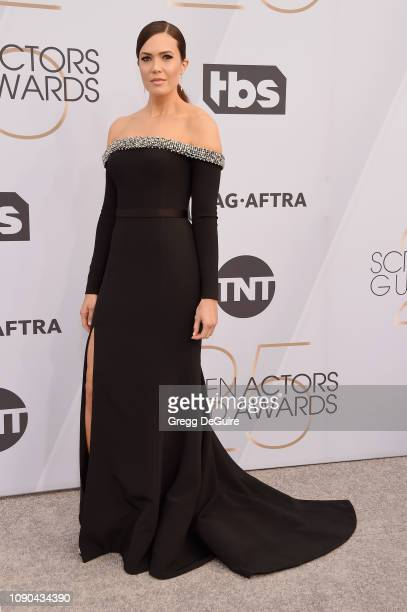 Mandy Moore attends the 25th Annual Screen ActorsGuild Awards at The Shrine Auditorium on January 27 2019 in Los Angeles California 480645
