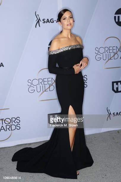 Mandy Moore attends the 25th Annual Screen ActorsGuild Awards at The Shrine Auditorium on January 27, 2019 in Los Angeles, California. 480695