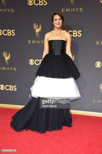 Mandy Moore attends the 69th Annual Primetime Emmy Awards at Microsoft Theater on September 17 2017 in Los Angeles California