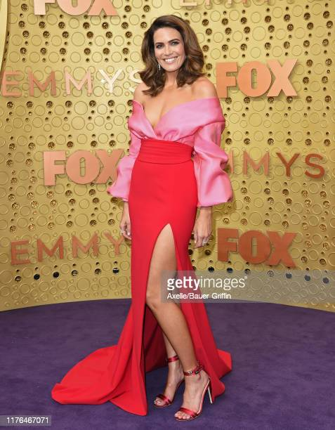 Mandy Moore attends the 71st Emmy Awards at Microsoft Theater on September 22 2019 in Los Angeles California