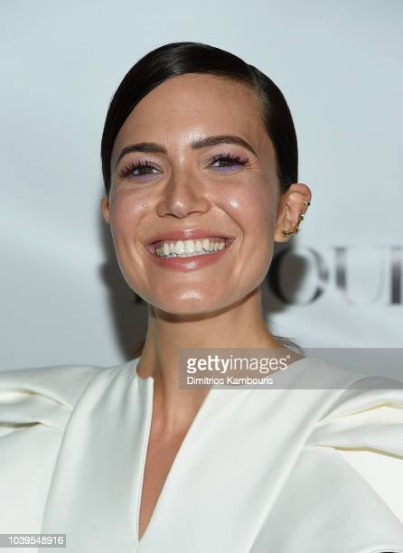 Mandy Moore attends The Dujour Magazine Cover party at TAO Downtown on September 24 2018 in New York City