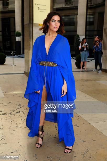Mandy Moore attends the DUNDAS Haute Couture Fall/Winter 2019 2020 show as part of Paris Fashion Week on July 01 2019 in Paris France