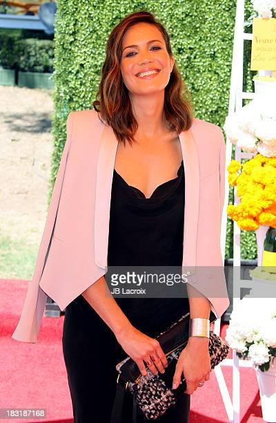 Mandy Moore attends The FourthAnnual Veuve Clicquot Polo Classic at Will Rogers State Historic Park on October 5 2013 in Pacific Palisades California