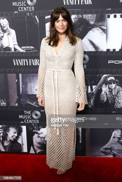 Mandy Moore attends the JONI 75 A Birthday Celebration Live At The Dorothy Chandler Pavilion held at Dorothy Chandler Pavilion on November 07 2018 in...