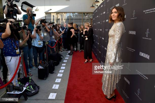 Mandy Moore attends the Los Angeles Confidential Impact Awards at The LINE Hotel on June 09 2019 in Los Angeles California