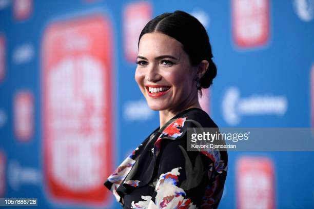 Mandy Moore attends the premiere of Disney's Ralph Breaks the Internet at El Capitan Theatre on November 5 2018 in Los Angeles California