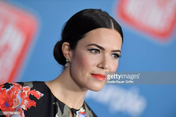 Mandy Moore attends the premiere of Disney's 'Ralph Breaks the Internet' at El Capitan Theatre on November 5 2018 in Los Angeles California