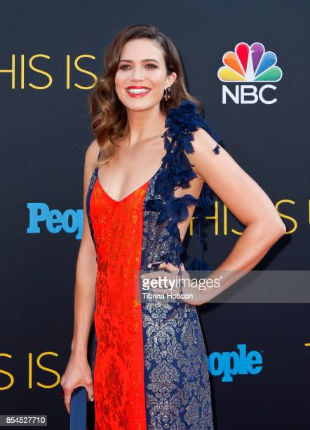 Mandy Moore attends the premiere of NBC's 'This Is Us' season 2 at NeueHouse Hollywood on September 26 2017 in Los Angeles California