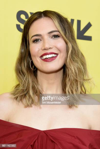 Mandy Moore attends the premiere of This Is Us at the Paramount Theatre during on March 12 2018 in Austin Texas