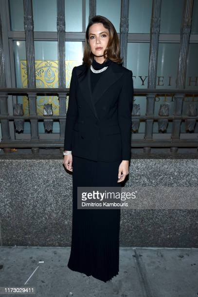 Mandy Moore attends the Ralph Lauren Fashion Show Arrivals during New York Fashion Week September 07, 2019 in New York City.