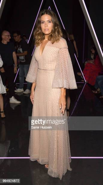 Mandy Moore attends the Ralph Russo Couture Haute Couture Fall/Winter 20182019 show as part of Haute Couture Paris Fashion Week on July 2 2018 in...