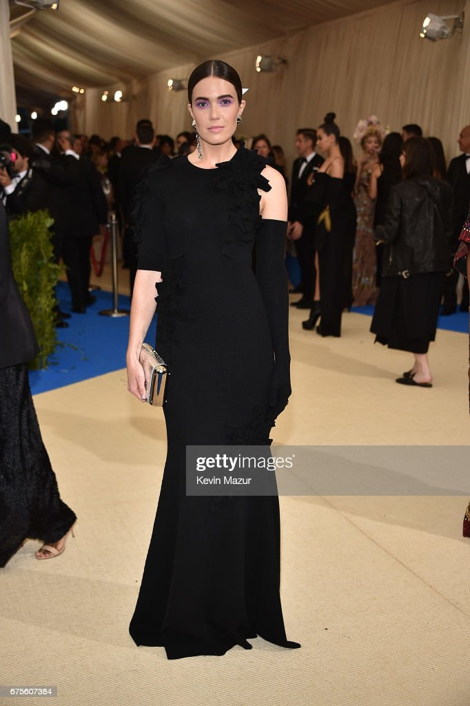Mandy Moore attends the 'Rei Kawakubo/Comme des Garcons: Art Of The In-Between' Costume Institute Gala at Metropolitan Museum of Art on May 1, 2017 in New York City.