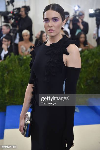 Mandy Moore attends the 'Rei Kawakubo/Comme des Garcons Art Of The InBetween' Costume Institute Gala at Metropolitan Museum of Art on May 1 2017 in...